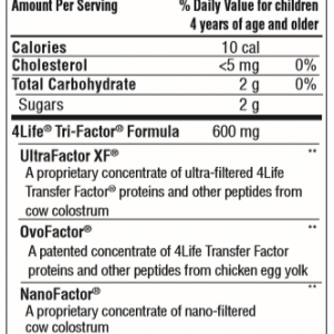 4Life® Transfer Factor®  Chewable Tri-Factor® Formula  Ordering