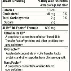 4Life® Transfer Factor®  Chewable Tri-Factor® Formula  Ordering