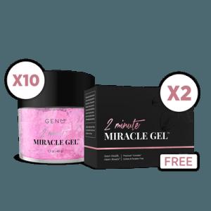 GenM 2 Minute Miracle Gel (10 Pack)