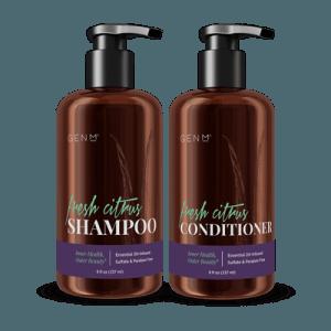 GenM Fresh Citrus Shampoo and Conditioner Combo